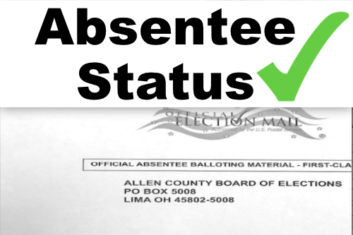 Check Your Absentee Ballot Status
