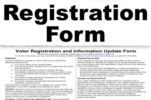 Register or Update Your Registration
